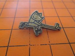 313F PIN'S PINS / Rare Et De Belle Qualité ! / Thème JEUX OLYMPIQUES / BARCELONA 1992 MASCOTTE ROLLER-HOCKEY Okkkkkkkèè? - Jeux Olympiques