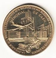 Guerre: Arthus Bertrand 14.Caen - Mémorial 2 Jeep Et Avion SD - Arthus Bertrand