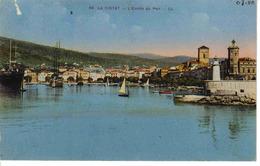 13 La Ciotat En 1950 N°66 L'entrée Du Port Phare Bateaux Cargo ? Et Voilier - La Ciotat