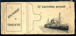 Ricordo Di TRIESTE, 12 Cartolina Postali, Stengel & Co., Dresden - Trieste