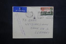 RHODÉSIE - Enveloppe De Salisbury Pour L 'Allemagne En 1962 Par Avion, Affranchissement Plaisant - L 36874 - Rhodesien & Nyasaland (1954-1963)