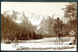 Dürrensee, Südtirol, Dolomiten, Um 1910,viele Stempel :Hotel Latemar,Postablage Christomansoshaus,Pordoijoche,Falzarego - Bolzano (Bozen)