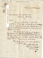 Document Du 21/02/1896 CHIVAS BROTHER'S - Aberdeen Ecosse Royaume-Uni - Royaume-Uni