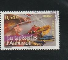France Oblitéré  2007   N°  4098    Portrait De Région.  La Tapisserie D'Aubusson - France