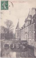 CPA - AUGERVILLE -  Fossés Du Château - France
