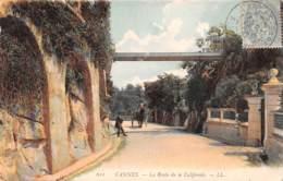 CANNES La Route De La Californie 4(scan Recto-verso) MA532 - Cannes