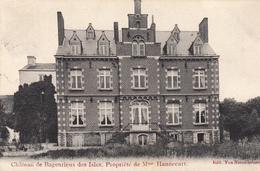 Deux-Acren - Château De Bagenrieux Des Isles. Propriété De Mme Hannecart  - Très Belle Carte  -  état Voir Scan. - Lessines