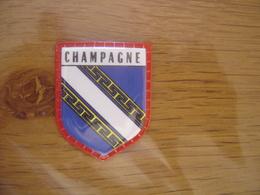 Ecusson Plastifie Cafés MAURICE Blason PROVINCE DE CHAMPAGNE  N°46 - Ecussons Tissu