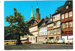 KARMANN-71   GOSLAR With KARMANN GHIA CONVERTIBLE And BMW Isetta - Postcards