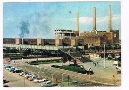 KARMANN-73   WOLFSBURG : Volkswagenwerke With  2 X KARMANN GHIA - Postcards
