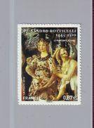 FRANCE 2010 - Autoadhésif  Y&T N° 492 - Sandro Botticelli - Neuf ** - Adhesive Stamps