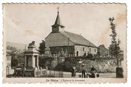 La Gleize - Stoumont - L'Église Et Le Monument - Circulée En 1938 - Edit. Sevrin-Crucifix - 2 Scans - Stoumont