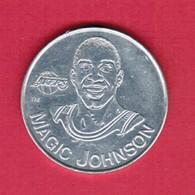 U.S.A.   1991 STARTING LINEUP---MAGIC JOHNSON COIN (T40) - Basketbal - NBA