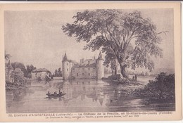 CPA - 32. Env D'AIGREFEUILLE - Le Château De La Preuille  En St Hilaire De Loulay - Aigrefeuille-sur-Maine