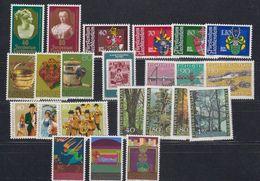 Liechtenstein 1980 Year (see Scan) ** Mnh (43918) - Liechtenstein