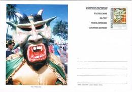 33634. Carta Entero Postal REPUBLICA DOMINICANA 1998. Tarifa Internacional, Cultura, Arte, Tradicion - República Dominicana