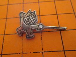 1018A PIN'S PINS / Rare Et De Belle Qualité ! / Thème JEUX OLYMPIQUES / BARCELONA 1992 MASCOTTE L'ESCRIME Ne Paie Pas - Olympische Spelen