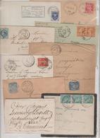 CREUSE: Petit Ensemble De Lettres , Toute Période Depuis 1800, En Gl B/TB, Toutes Scannées A ETUDIER - Postmark Collection (Covers)