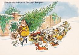 Dackel Teckel  Dachshund  Chien  Humor  Modern Postcard - Dogs