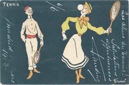 Cpa Illustrateur - Fernel - Tennis  ( ILL ) - Other Illustrators