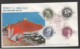 GIAPPONE - 1964 FDC OLIMPIADI - Estate 1964: Tokio