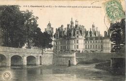 33636. Postal CHAMBORD (Loir Et Cher) 1903. Chateau Et Pont De Le COSSON - Francia