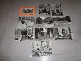 """Tihange """" La Motte En Gée """"    - Carnet Avec 10 Cartes Postales - Hoei"""