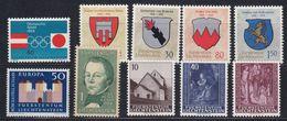 Liechtenstein 1964 Year (see Scan) ** Mnh (43919) - Liechtenstein