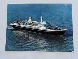 USSR Motor Ship SHOTA RUSTAVELI  Stamp   A 201 - Dampfer