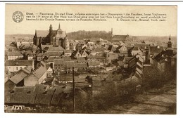 Diest - Panorama - Uitg. Ad. Hermans-Uten - 2 Scans - Diest