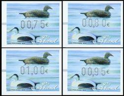 ALAND Distributeurs 2012 Canards 4v Neuf ** MNH - Aland
