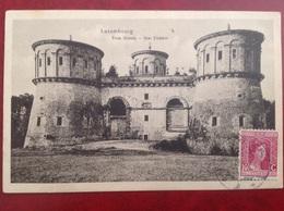 Timbre Luxembourg Sur Cpa Trois Glands Pour St Loup Sur Semouse - Machine Stamps (ATM)