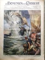 La Domenica Del Corriere 11 Ottobre 1914 WW1 Reims Marte Mine Termonde Gorgona - Guerra 1914-18