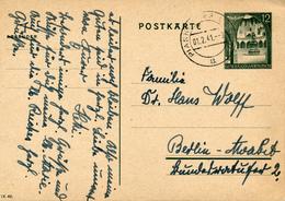 GENERALG. / PIASKI  (Lublin)  - 1.2.1941 , Ganzsache - Ā Mit Dach ! - POSTKĀRTE Nach Berlin-Moabit - Occupation 1938-45