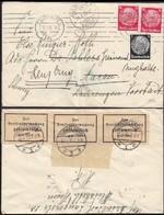 Germany - Censored Cover, 'Zollamtlich Geöffnet'. Dusseldorf 10.1.1935 To Aarau. - Briefe U. Dokumente