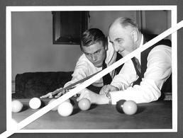 Photo Presse Farabola  - 1963 -  CANTANTE SINGER ADAM FAITH - SYDNEY LEE - BILIARDO - BILLARD - BILLIARDS - Sport