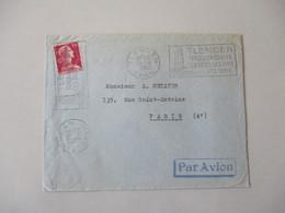 TLEMCEM 1956 13-5 ORAN TLEMCEM PERLE DU MOGHREB SES SITES SES VINS SES TAPIS TIMBRE 15F RF ALGERIE - Algeria (1924-1962)
