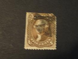 ETATS-UNIS  1861   WASHINGTON-5 Cents Abimé - 1847-99 General Issues
