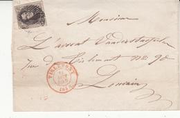 Envlp  Médaillon N° 6    Cachet 1856 - 1851-1857 Medallions (6/8)