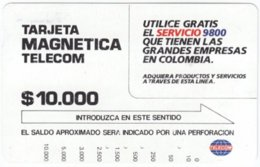 COLOMBIA A-091 Magnetic Telecom - Used - Colombia
