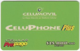 COLOMBIA A-146 Prepaid Celumovil - Used - Colombia