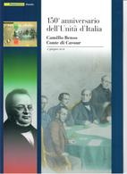 ITALIA 2011 -  150° UNITA' D'ITALIA - CAMILLO BENSO CONTE DI CAVOUR - SENZA SPESE POSTALI - 6. 1946-.. Repubblica