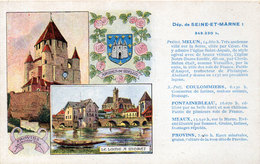 SEINE ET MARNE - Melun, Provins, Moret - Edition Spéciale Des Pastilles Valda (115010) - Unclassified