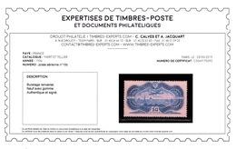 YV 15 N* (trace) Signé Calvés + Certificat , Caudron Simoun Sur Paris Cote 800 Euros - 1927-1959 Neufs