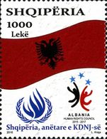 ALBANIE Membre Du HRC  1V 2016  Neuf ** MNH - Albanie