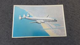 "ANTIQUE POSTCARD AVIANCA COLOMBIA AIRLINES "" SUPER-G CONSTELLATION"" AIRPLANE UNUSED - 1946-....: Era Moderna"
