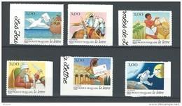 """FR Adhesif YT 18 à 23 (3156 à 3161) """"  Les Journées De La Lettre """" 1998 Neuf** - France"""