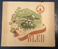 FULL    TOBACCO  BOX    CIGARETTES  BLED   FNRJ  YUGOSLAVIA - Contenitori Di Tabacco (vuoti)