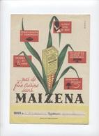 PROTÈGE CAHIERS -MAIZENA --  RECTO/VERSO    -- Z902 - Omslagen Van Boeken