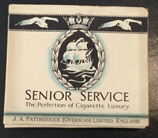 FULL    TOBACCO  BOX    CIGARETTES    SENIOR SERVICE  THE PERFECTION OF CIGARETTE LUXURY - Contenitori Di Tabacco (vuoti)